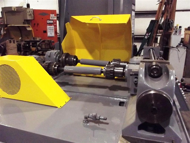"3"" Landis 32 TFR Reconditioned 2 Die Cylindrical In-Feed / Thru-Feed Thread Roller"