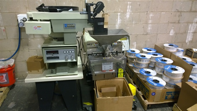 Autobag Accu-count Model 118 High Speed Counting and Batch Feeding System