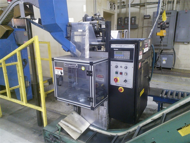 Bagmaster Model C-108 Form, Fill and Seal Bagging Machines