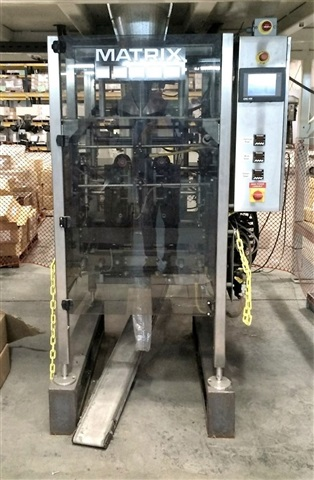 Matrix 916P Vertical Form Fill and Seal Bagging Machine