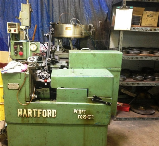 "5/16"" Hartford National 5-700 Point Former"